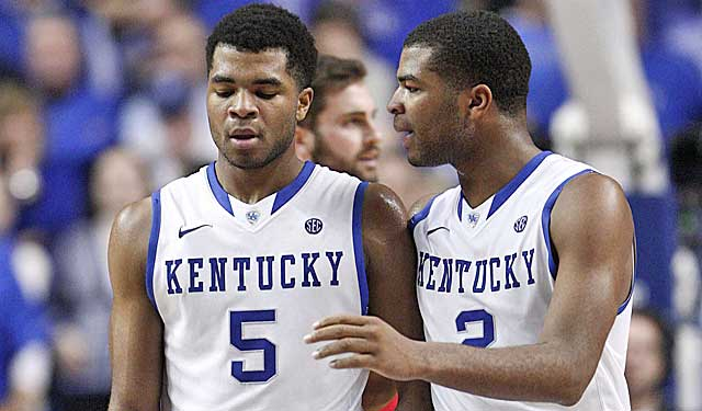The Harrisons did not transform Kentucky into the superpower many experts anticipated. (USATSI)