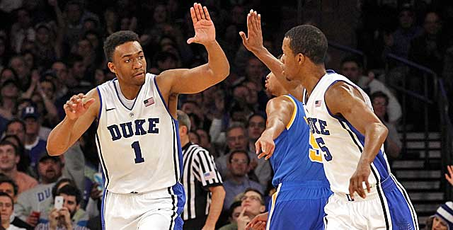 Jabari Parker has put Duke on his shoulders at times. Coach K has put Parker on the bench once. (USATSI)