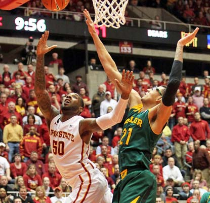 DeAndre Kane does it all for unbeaten Iowa State with 30 points, nine assists, eight rebounds and five steals.  (USATSI)