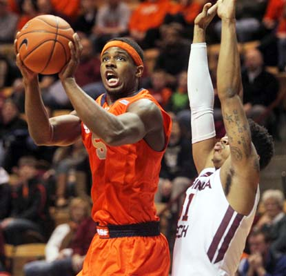 C.J. Fair and Syracuse come out with a win in the school's first trip to Cassell Coliseum since 1978.  (USATSI)