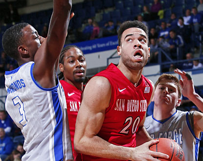JJ O'Brien (18 points) helps SDSU to its second-best start since opening 20-0 in 2010-11. (USATSI)