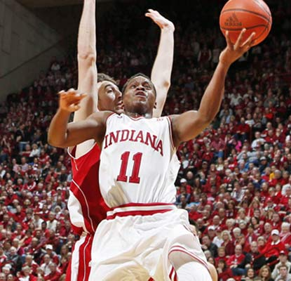 Yogi Ferrell leads the Hoosiers from 10 points down in the second half and Indiana gets its biggest win of the season.  (USATSI)