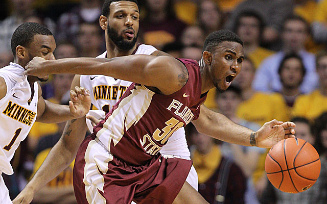 Guard Ian Miller has a solid all-around game for Florida State. (USATSI)