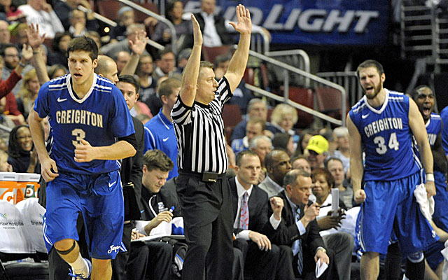 Doug McDermott and sharp-shooting Creighton show off their offensive prowess against Villanova. (USATSI)