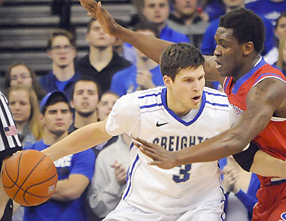 Doug McDermott does it all for Creighton. That includes a season-high 39 points and a game-winning shot from 25 feet out. (USATSI)