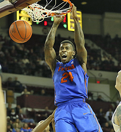 Casey Prather puts in 16 points, and the No. 3 Gators just keep rolling with a win over Mississippi State.  (USATSI)