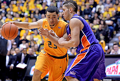Fred VanVleet and the Shockers overcome an early barrage to improve to 23-0 on the season. (USATSI)