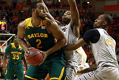 Rico Gathers and Baylor shoot 52 percent after scoring fewer than 70 points in their previous four contests. (USATSI)