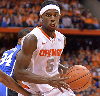 C.J. Fair lights up Duke for a career-high 28 points, helping to lead Syracuse to a wild OT victory (USATSI)