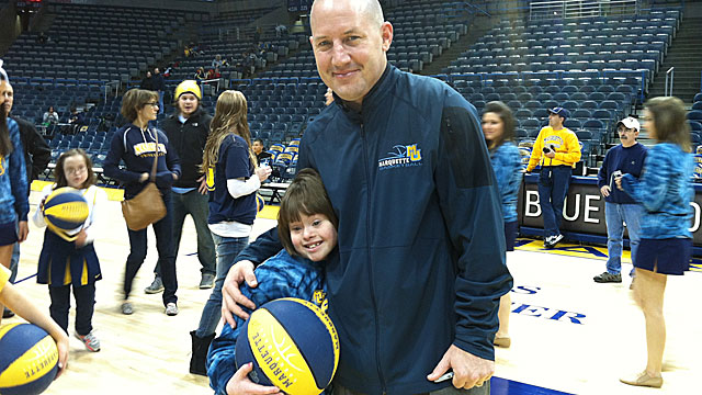 Buzz Williams started Buzz's Bunch when he was hired by Marquette in 2008. (Provided by Robbin Lyons)