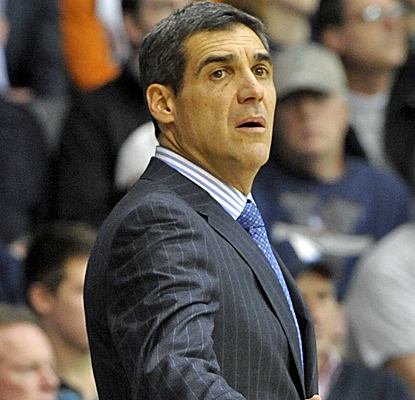 Villanova coach Jay Wright wins his 400th career game, 122 of which came at Hofstra.  (USATSI)