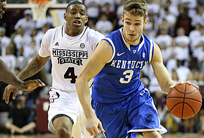 Jarrod Polson, a senior, plays a key role in the win for Kentucky, which beats the Bulldogs for the seventh straight time. (USATSI)