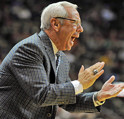 Roy Williams' Tar Heels rally from 15 points down to beat FSU for their seventh straight win. (USATSI)