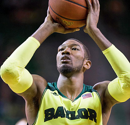 Cory Jefferson scores 25 points as Baylor survives OK State's buzzer-beater in regulation with an overtime win. (USATSI)