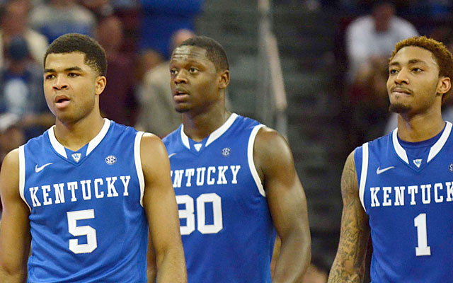 Kentucky is in the Top 25 despite three top-50 RPI wins and four losses outside of the top 50. (USATSI)