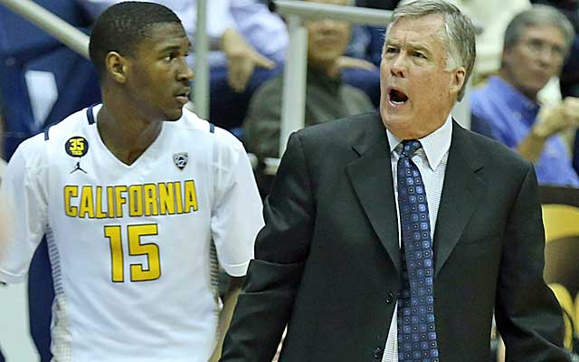 Mike Montgomery's Cal Golden Bears have lost fiur of five, dropping them out of the bracket.    (USATSI)