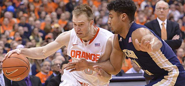 Cuse was a lock 1-seed three weeks ago, but losses to BC and Ga. Tech hurt. (USATSI)