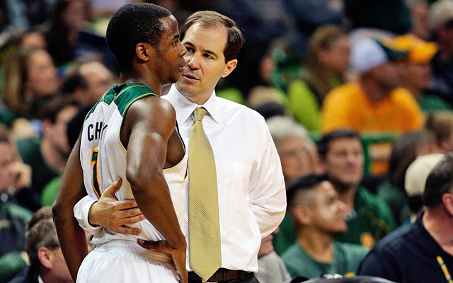 Junior point Kenny Chery has helped put Scott Drew and Baylor in solid NCAA shape. (USATSI)