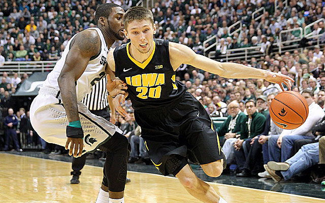 Iowa has struggled of late, losing five of its past six games. (USATSI)