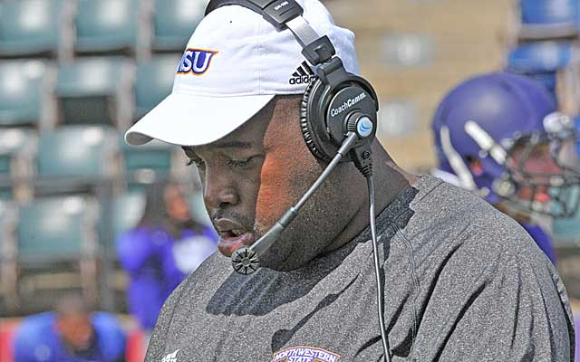Coach Black has been a fixture at Northwestern State football and basketball games since 1995. (Provided to CBSSports.com)