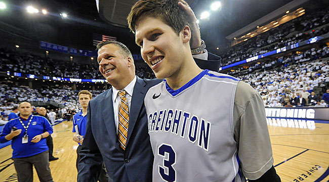 Follow LIVE: Creighton's McDermott on fire