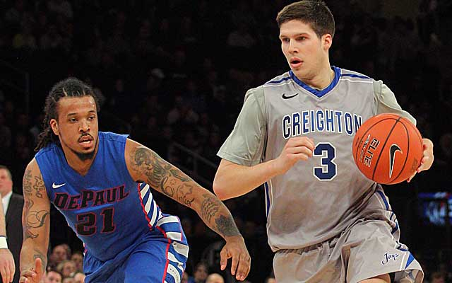 Doug McDermott sets a Big East tourney record with 27 first-half points. (USATSI)