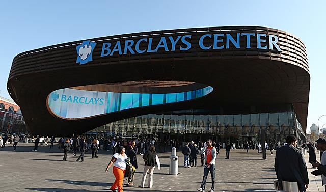 Home to the Atlantic 10 tournament this week, the Barclays Center might get a more prestigious tourney.