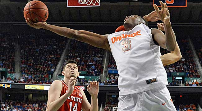 Follow LIVE: Syracuse vs. NC St. in ACC quarters