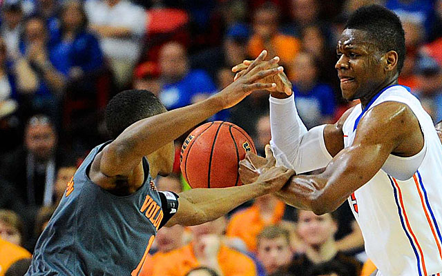The Vols tangled with No. 1 Florida and nearly came out on top. (USATSI)