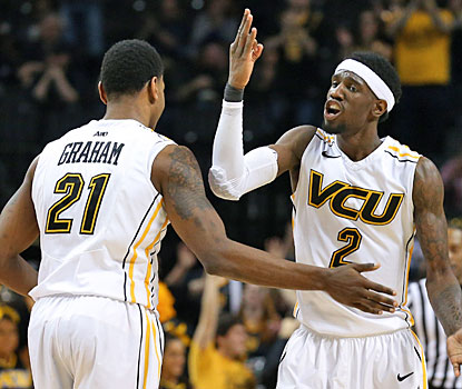 Treveon Graham and Briante Weber combine for 38 points as VCU returns to the Atlantic 10 championship game.  (USATSI)