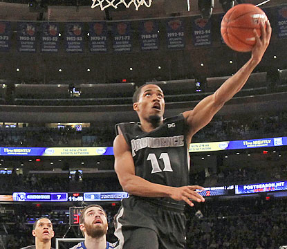 Bryce Cotton puts up 23 points to help Providence earn an automatic bid in the NCAA Tournament by winning the Big East tourney. (USATSI)