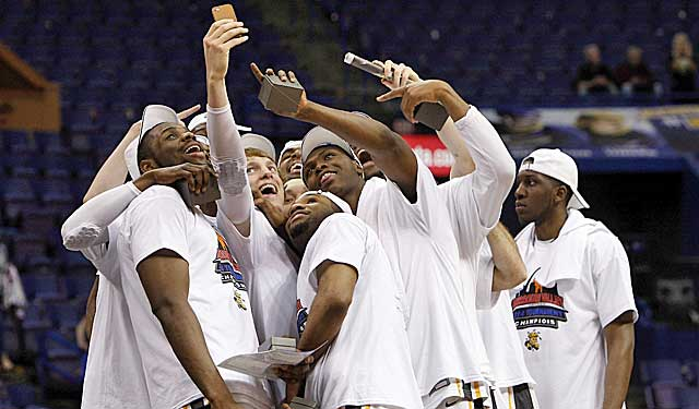 The committee did not help Wichita State's chances of celebrating with another selfie. (USATSI)