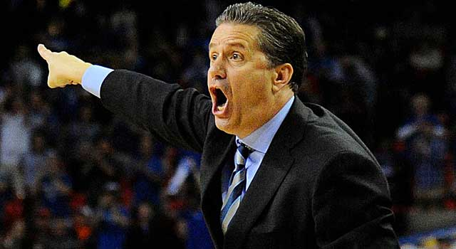 Is John Calipari headed for a showdown with Louisville in Indianapolis? (USATSI)