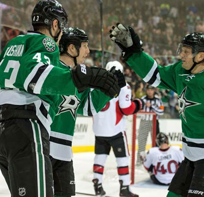 The Stars outshoot the struggling Senators 42-27 to end their four-game losing streak.  (USATSI)