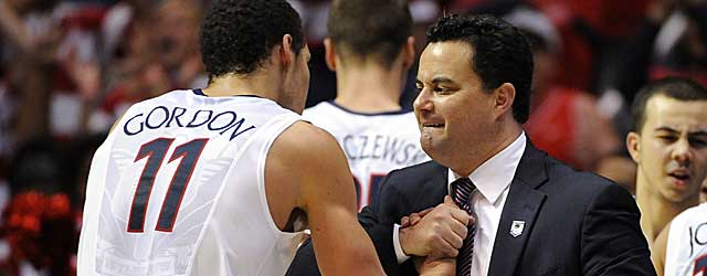 Sean Miller and Aaron Gordon get work done against Gonzaga in the Round of 32. (USATSI)