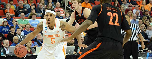 Jarnell Stokes and Tennessee continue an unlikely tournament run. (USATSI)