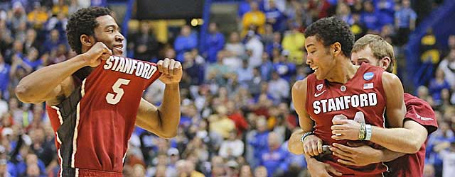 Stanford may be tough to hold back after an improbable win over Kansas. (Getty Images)