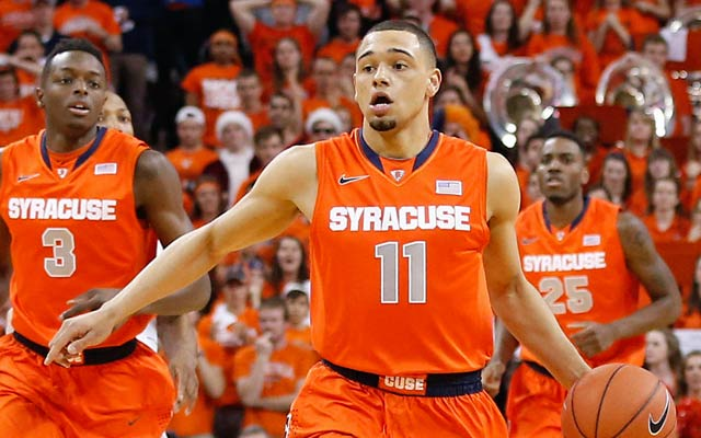 Tyler Ennis is a projected first-rounder who could be picked in the lottery. (USATSI)