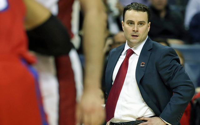 Archie Miller, just 35, has his team one win from the Final Four. (USATSI)