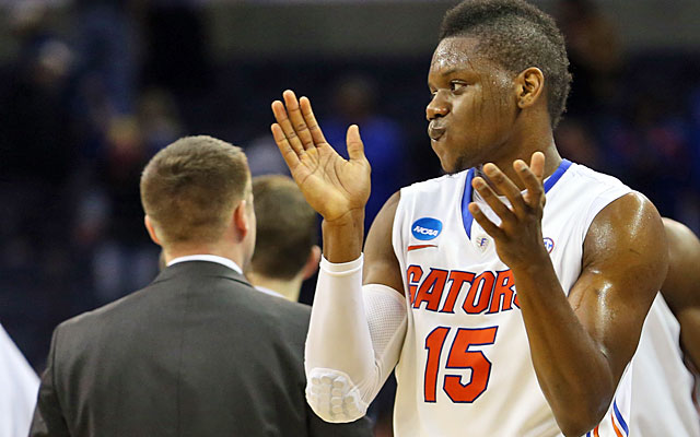 Florida senior Will Yeguete, on advancing to his fourth Elite Eight -- 'This is not enough for us.' (USATSI)