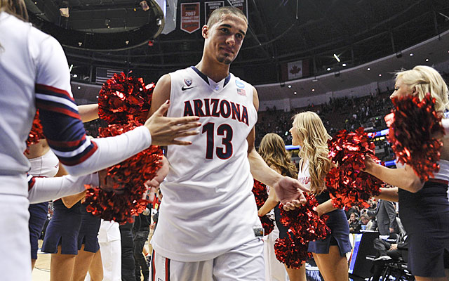 Nick Johnson found his stroke just in time to help Arizona get past San Diego State on Thursday. (USATSI)