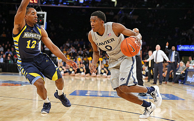 Xavier's Semaj Christon is leaving the Musketeers to join the professional ranks. (USATSI)