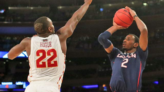 Iowa State has no answer for DeAndre Daniels Friday night at MSG. (USATSI)