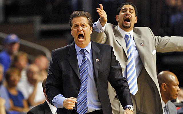 New USF coach Orlando Antigua has had John Calipari's back at Memphis and Kentucky. (USATSI)