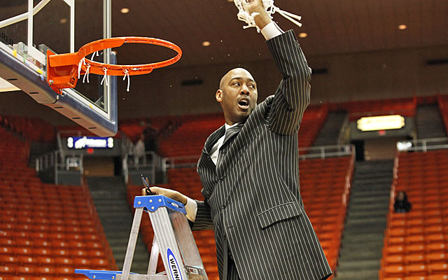 Danny Manning led Tulsa to a Conference USA title and the NCAA tourney in his second season. (USATSI)