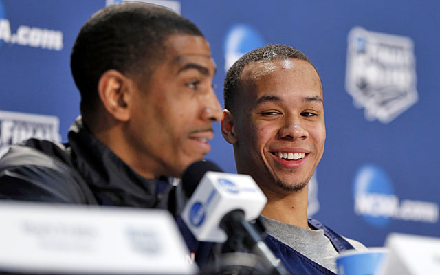 With Kevin Ollie as coach, Shabazz Napier chose to stay and developed into a star for the Huskies. (USATSI)