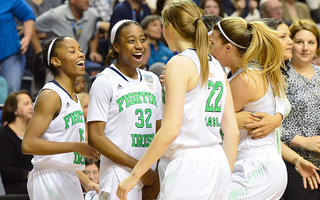 Notre Dame earns its third trip to the championship game in four seasons. (USATSI)