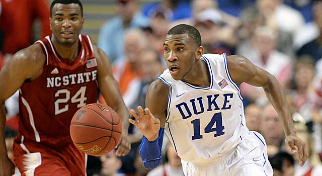 Rasheed Sulaimon is a solid returner for Coach K's Blue Devils next season. (USATSI)