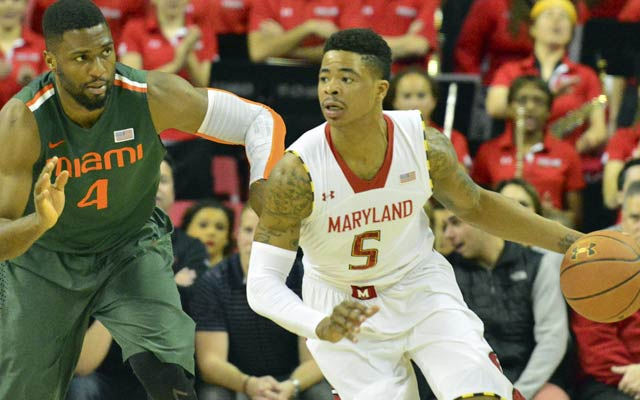 Nick Faust is a significant loss for the Terrapins.  (USATSI)