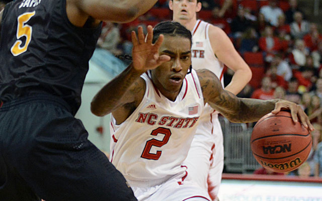 Cat Barber is NC State's cat-quick point guard. (USATSI)
